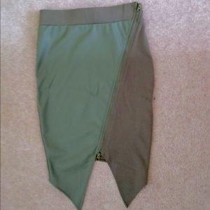Sirens Skirts - High Waisted Split Pencil Skirt NWT